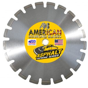 Asphalt Drop-Segment Supreme Series Diamond Blade