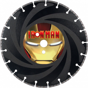 Iron Man Ductile Iron Supreme Series Diamond Blade