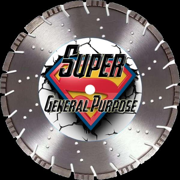 Super General Purpose Supreme Series Diamond Blade