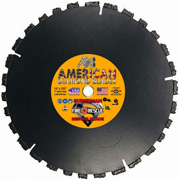 Superman Rescue and Demolition Saw Blade